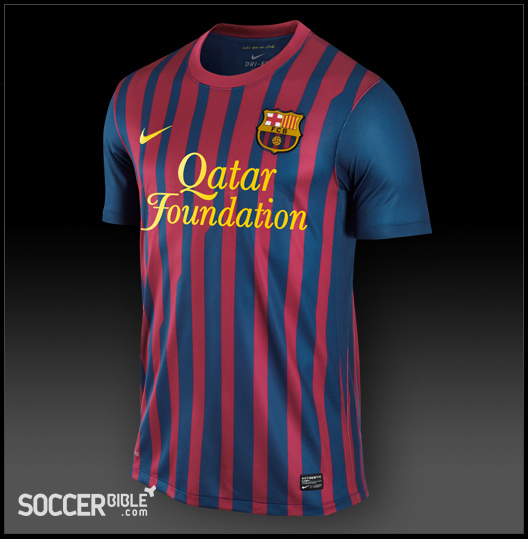 Fc Barcelona Home Kit 2011 2012 Nike Football Shirt Soccerbible