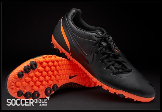 new product be2de 25ae6 Nike 5 Bomba Finale Football Trainers - Black Black Total Orange