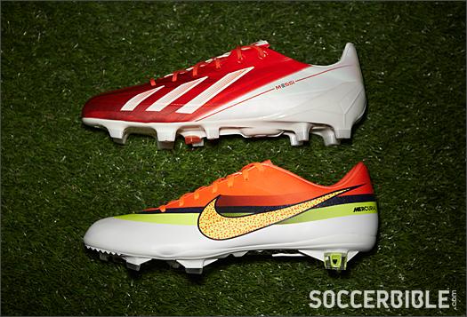 223503af6f7 Messi vs Ronaldo  Signature Boot Face-Off - SoccerBible