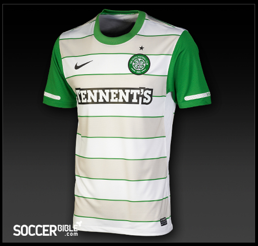 brand new 3572b c85b8 Celtic Away Shirt 2011-2012 - Nike Football Shirt - SoccerBible