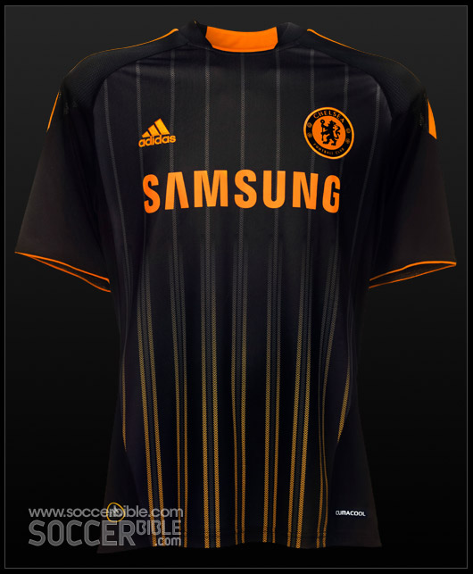 timeless design b5f5c 68e9b Chelsea Away 10/11 adidas Football Shirts - SoccerBible