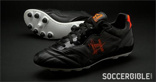 Cruyff Hatrick Euro Football Boots Black Orange