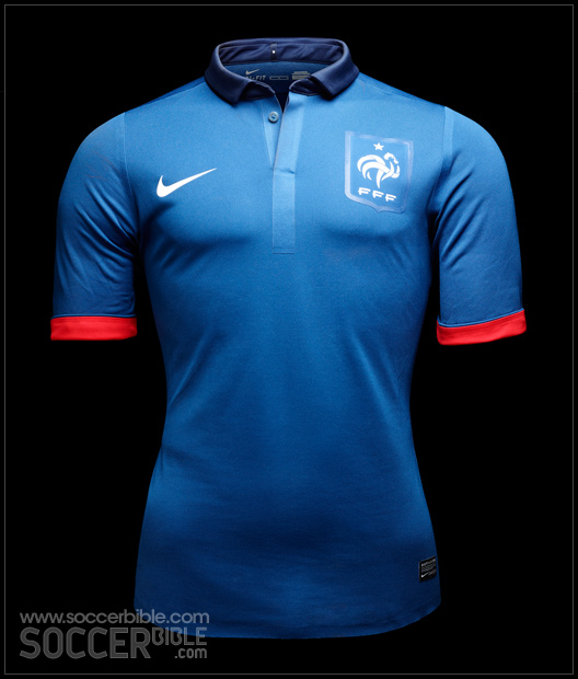 finest selection bfc99 d350f Nike France National Authentic Team Shirt - SoccerBible