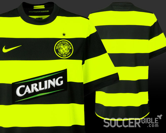 Football Shirt News - Celtic FC New Away Kit by Nike 09 10 - 21 07 09 -  SoccerBible. e78558a68