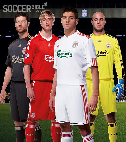 4a66f0d78 Football Shirt News - Liverpool Euro Away Kit 09 10 adidas - 16 07 09 -  SoccerBible.