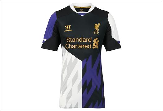 80d99c5ac09 Liverpool Unveil 2013 14 Warrior Third Kit - SoccerBible