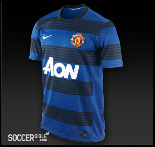 finest selection 9dff5 e9365 Manchester United Away Shirt 2011-2012 - Nike Football Shirt ...