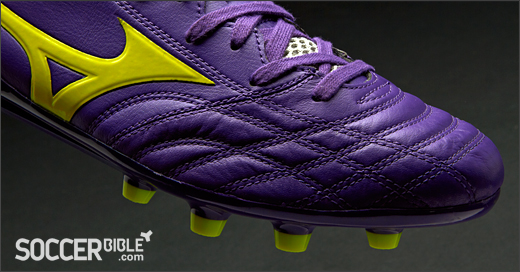 the latest 753f5 3a0b5 Quite significantly, and where Mizuno trump their rivals in the speed  category is their use of quality Kangaroo leather for the Morelia Neo upper.