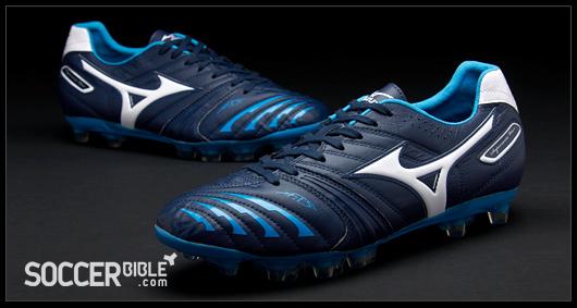 Mizuno Supersonic Wave II Football Boots - Blue/White/Blue