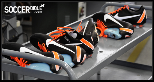 hormigón Cobertizo cien  SoccerBible Access - Inside Nike Montebelluna - SoccerBible