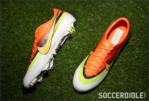 8bd2351a68d3 Nike Mercurial Vapor IX CR FG - White/Volt/Crimson - SoccerBible