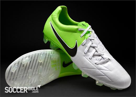 para toda la familia liberar información sobre forma elegante Nike T90 Laser IV KL Football Boots - White/Green - SoccerBible