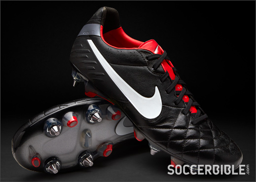 new products 306f8 f6aca Nike Tiempo Legend IV Football Boots - Black/Red - SoccerBible