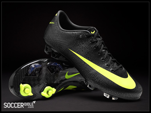 check out f9aed 72aa9 Nike CR Mercurial Vapor Superfly III Football Boots – Black Volt Dark Shadow