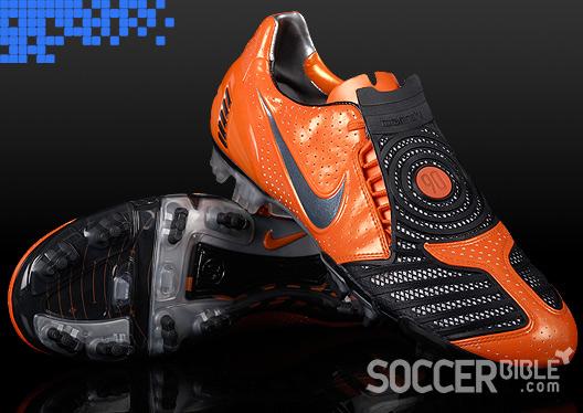 1f71d24c162d Power Football Boots - Nike T90 Laser II Orange Blaze/Black - 15/06 ...