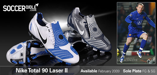 f0823bacf369 The Nike Total 90 Laser II football boots have proven very successful since  their release, featuring their innovative and unique ShotShield technology.