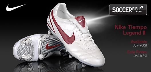 new products 2ebcb 368f6 Heritage Football Boots - Nike Tiempo Air Legend II - 13/08 ...