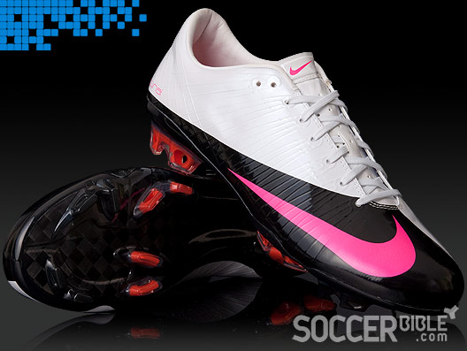 the latest d0faa 6fb40 The next launch for the Nike Vapor Superfly football boots will be these  slick looking White Pink Flash Black editions. A classy colourway for one  of the ...