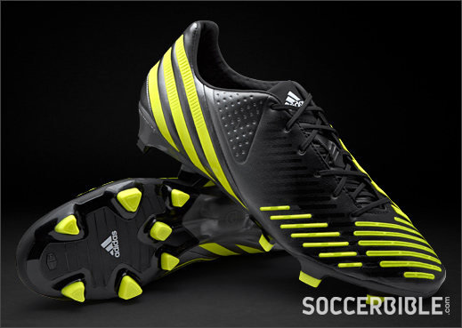 090c07b45cf30 adidas Predator LZ UCL Football Boots - Blk Lime Metallic - SoccerBible