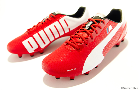 9825a7c40ba2 PUMA BMW join forces to release 535 pairs of evoSPEED boots. - SoccerBible.