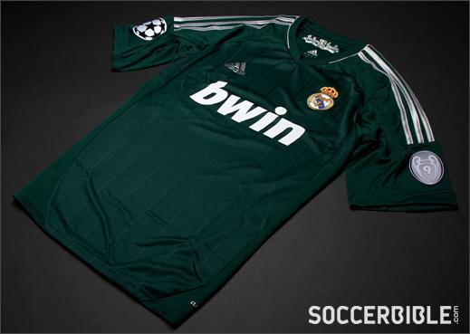 Real Madrid Third Replica 2012-13 - adidas Football Shirt ...