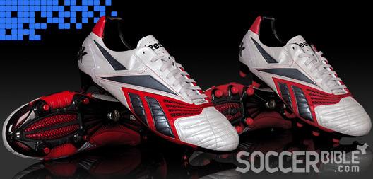 Power Football Boots Reebok Valde Pro II SteelRedBlack