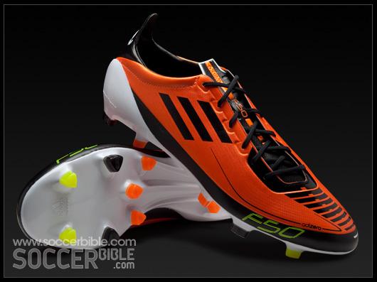 pretty nice bd499 19907 adidas F50 adizero Prime Football Boots - Warning Black White