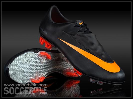 3b68b36a0 Nike Mercurial Vapor VI Football Boots - Black/Circuit Orange/Black ...