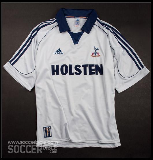 f039f37986c The adidas 1999 2001 Tottenham Hotspur home shirt was worn during quite a  barren period of European football at White Hart Lane. But following League  Cup ...