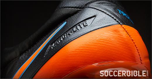 7294dd263 Nike T90 Laser IV KL Football Boots - Black Orange Blue - SoccerBible.
