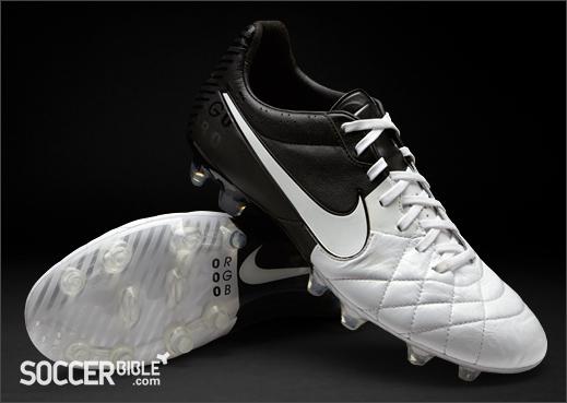 sports shoes 0e8b9 c72a9 Nike Tiempo Legend IV Football Boots - White/Black - SoccerBible
