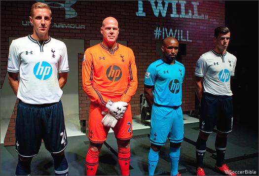 Peaje Quagga Consumir  Tottenham Hotspur Under Armour Kit Launch Event | London - SoccerBible