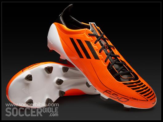 Senado Dar a luz Catástrofe  adidas F50 adizero Football Boots - Warning/Black/White - SoccerBible