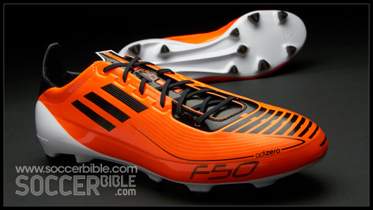 3ab75e607 The F50 adiZero boots are available in three distinct sole plates, from  soft ground (SG) to firm ground (FG) and also a new hard ground (HG) plate.