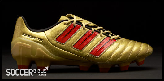 1bfa015be ... release of the new Gold Red Black adiPower DB Predator football boots!  Take a look and share your thoughts with the SoccerBible community online