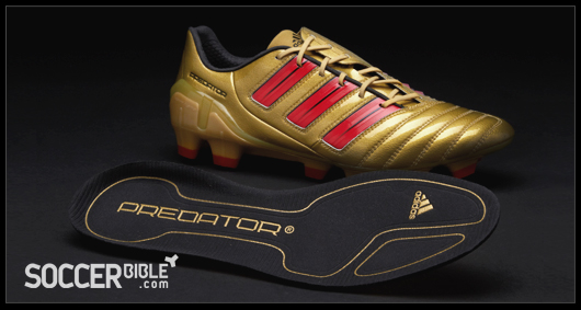 960a3bb55 The new Gold Red Black adiPower DB Predator football boots are expected to  be available from mid July and will retail worldwide for around £155 GBP     230 ...