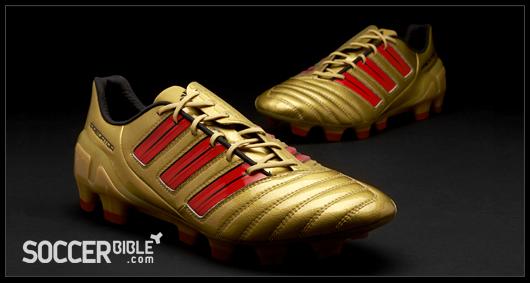 6456ae9f9 adidas adiPower DB Predator Football Boots - Gold Red Black - SoccerBible.