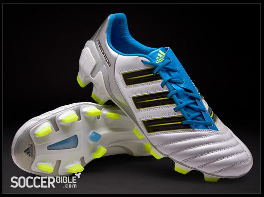 célula nivel Asociar  adidas adipower Predator Football Boots - White/Blue/Electricity -  SoccerBible