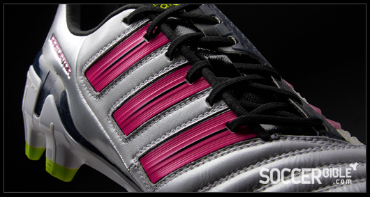 f3dd56486ee8 The new adiPower Predator soccer shoes continue to utilise the same Taurus  calf leather first introduced in the adidas Predator X, although it's a  lighter ...