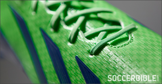 9f7ba4602 ... Green Zest White Navy colourway to deliver the same on-pitch presence.  The f50 adizero has built a reputation for its stark colourways so we  imagine ...