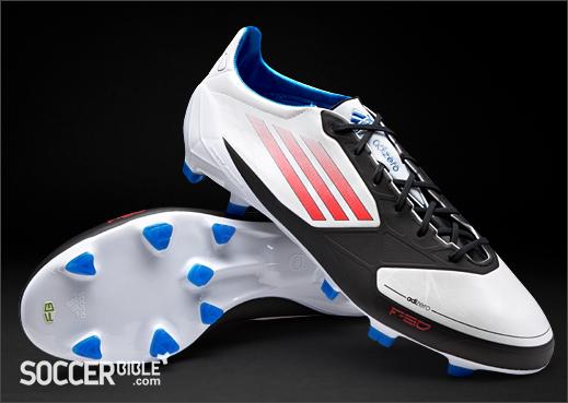 separation shoes 07fae 3398a adidas F50 adizero miCoach Football Boots - White Energy Black