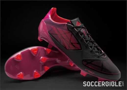 e0ce5ad7d352 adidas f50 adizero miCoach Graphic Football Boots - Black/Infrared/Pink