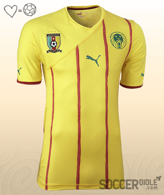 f6cbcd1d4 These shirts are the only Puma African Cup of Nations shirts to feature two  badges on the chest