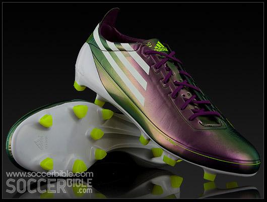 f30cf10d4 adidas F50 adiZero Football Boots - Chameleon Electricity - SoccerBible