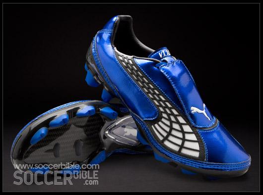 huge discount 2d4ad 579ca Puma V1.10 II Football Boots – Olympian Blue White Ebony