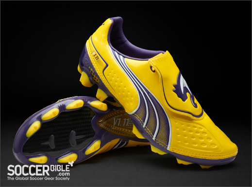 f4bba862c83d Puma v1.11 Football Boots - Yellow Purple White - SoccerBible