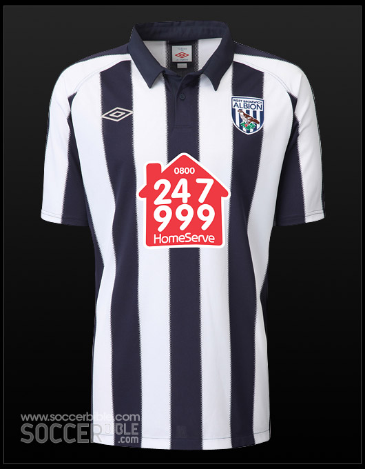 West Bromwich Albion Home Amp Away 10 11 Umbro Football Shirts Soccerbible