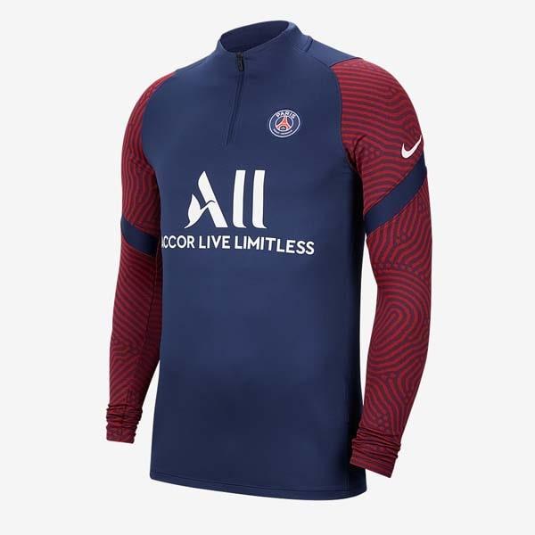 Paris Football Long Sleeve Training Clothes 18~19 White