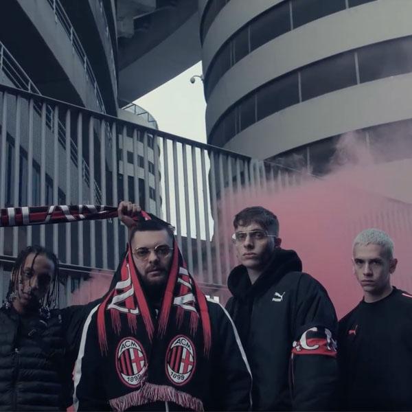 Milan Rapper Teases Puma X Ac Milan Partnership Soccerbible