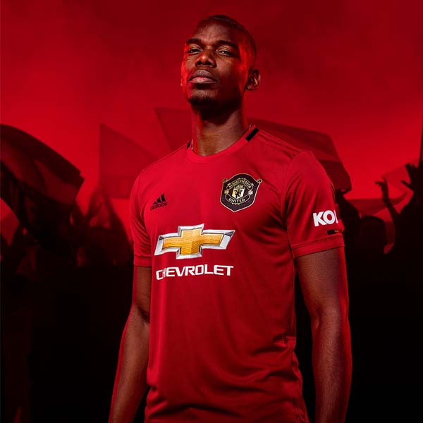 adidas unveil manchester united 2019 20 home shirt soccerbible adidas unveil manchester united 2019 20
